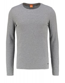 Boss Orange Terris Slim Fit Longsleeve Light/pastel Grey afbeelding