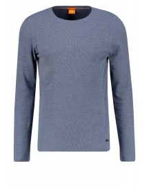 Boss Orange Terris Slim Fit Longsleeve Navy afbeelding