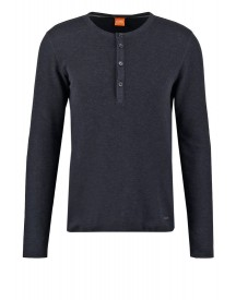 Boss Orange Topsider Longsleeve Dark Blue afbeelding