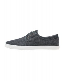 Burton Menswear London Bryson Sneakers Laag Charcoal afbeelding