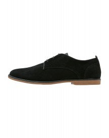 Burton Menswear London Hamill Veterschoenen Black afbeelding