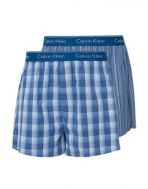 Calvin Klein Underwear 2 Pack Boxershorts Larkin Plaid/gallagher Stripe afbeelding