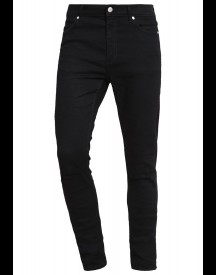 Cheap Monday Him Spray Slim Fit Jeans Cut Black afbeelding
