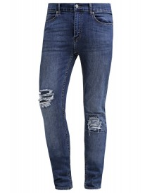 Cheap Monday Tight Slim Fit Jeans Carbon Blue afbeelding