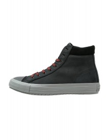 Converse Chuck Taylor All Star Sneakers Hoog Black/charcoal Grey/signal Red afbeelding