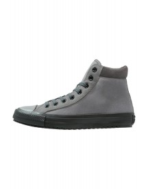 Converse Chuck Taylor All Star Sneakers Hoog Charcoal Grey/blue Lagoon/black afbeelding