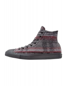 Converse Chuck Taylor All Star Woolrich Sneakers Hoog Dolphin/black/thunder afbeelding