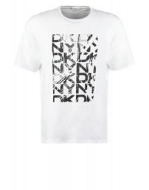 Dkny Relaxed Fit Tshirt Print White afbeelding