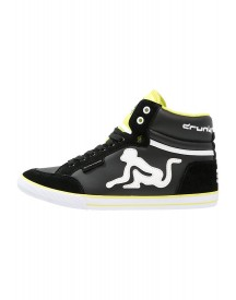 Drunknmunky Boston Classic Sneakers Hoog Black/lime afbeelding