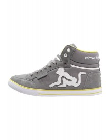 Drunknmunky Boston Classic Sneakers Hoog Grey/lime afbeelding