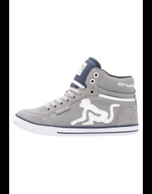 Drunknmunky Boston Classic Sneakers Hoog Grey/navy Blue afbeelding