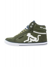 Drunknmunky Boston Classic Sneakers Hoog Military/navy afbeelding