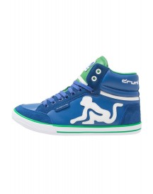 Drunknmunky Boston Classic Sneakers Hoog Royal/green afbeelding