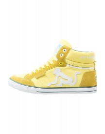 Drunknmunky Boston Classic Sneakers Hoog Yellow/mineral afbeelding