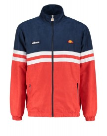 Ellesse Rimini V Trainingsjack Dress Blue/flame Scarlet afbeelding