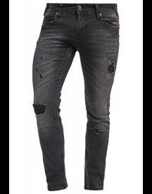 Fortyfour Slim Fit Jeans Black Denim afbeelding