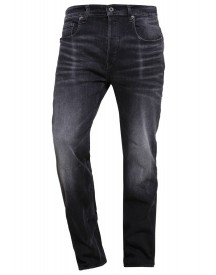 Gstar 3301 Loose Relaxed Fit Jeans Skop Black Stretch Denim afbeelding