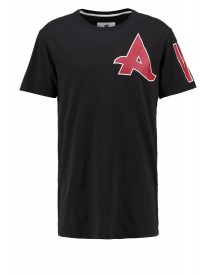 Gstar Afrojack Sports Long Rt S/s Tshirt Print Black afbeelding