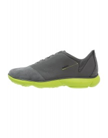 Geox Nebula Instappers Charcoal/lime Green afbeelding