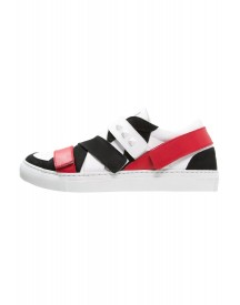 Giacomorelli Klausl Sneakers Laag White/black/red afbeelding