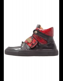 Giuliano Galiano Fly Sneakers Hoog Black/red afbeelding