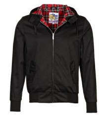 Harrington Korte Jassen Black afbeelding