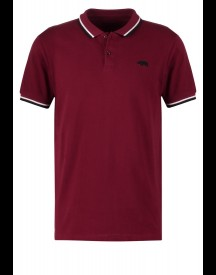 Harrington Poloshirt Bordeaux afbeelding