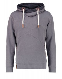 Indicode Jeans Johnny Sweater Mottled Grey afbeelding