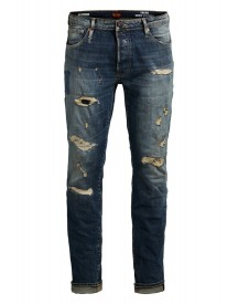 Jack & Jones Straight Leg Jeans Blue afbeelding