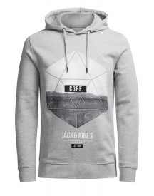 Jack & Jones Sweater Light Grey Melange afbeelding