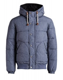 Jack & Jones Winterjas Black Navy afbeelding
