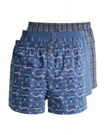 Jockey 3 Pack Boxershort Night Blue afbeelding