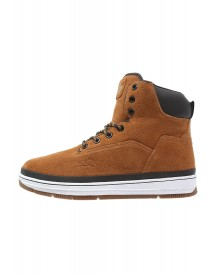 K1x State Sneakers Hoog Dark Honey/black afbeelding