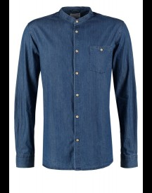 Knowledge Cotton Apparel Casual Overhemd Blue afbeelding