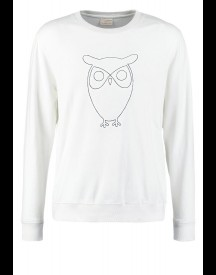 Knowledge Cotton Apparel Sweater Bright White afbeelding
