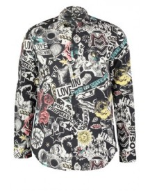 Love Moschino Casual Overhemd Multicolor afbeelding
