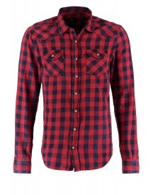 Ltb Rohan Slim Fit Casual Overhemd Red Plaid Wash afbeelding