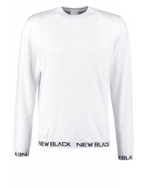 New Black Smash Crew Longsleeve White afbeelding