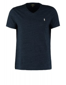 Polo Ralph Lauren Custom Fit Tshirt Basic Blue Eclipse afbeelding