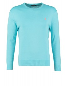 Polo Ralph Lauren Slim Fit Trui Cayman Blue afbeelding