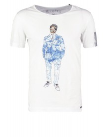 Replay Tshirt Print White afbeelding