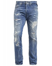 Replay Waitom Slim Fit Jeans Destroyed Denim afbeelding