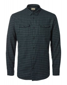 Selected Homme Regular Fit Casual Overhemd Green Gables afbeelding