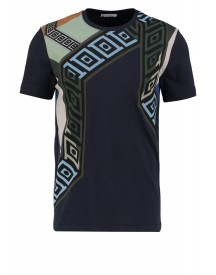 Versace Collection Tshirt Print Blu Navy afbeelding
