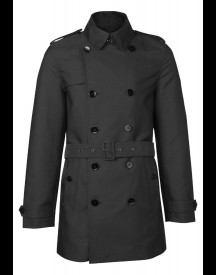We Fashion Trenchcoat Black afbeelding