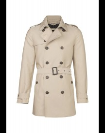 We Fashion Trenchcoat Trenchcoat Beige afbeelding
