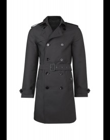 We Fashion Trenchcoat Trenchcoat Black afbeelding
