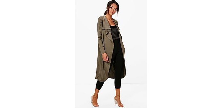 Image Kate Ponte Wrap Front Duster Jacket