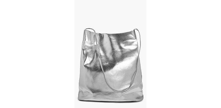 Image Laura Metallic Duffle Cross Body