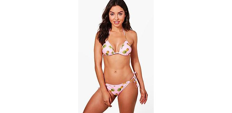 Image Puerto Rico Pineapple Pop Triangle Bikini